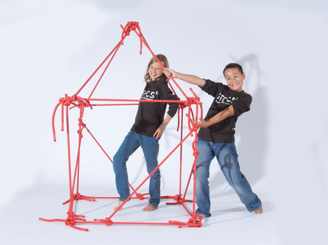 Bekend STOCS bouwen met touwen #WP72